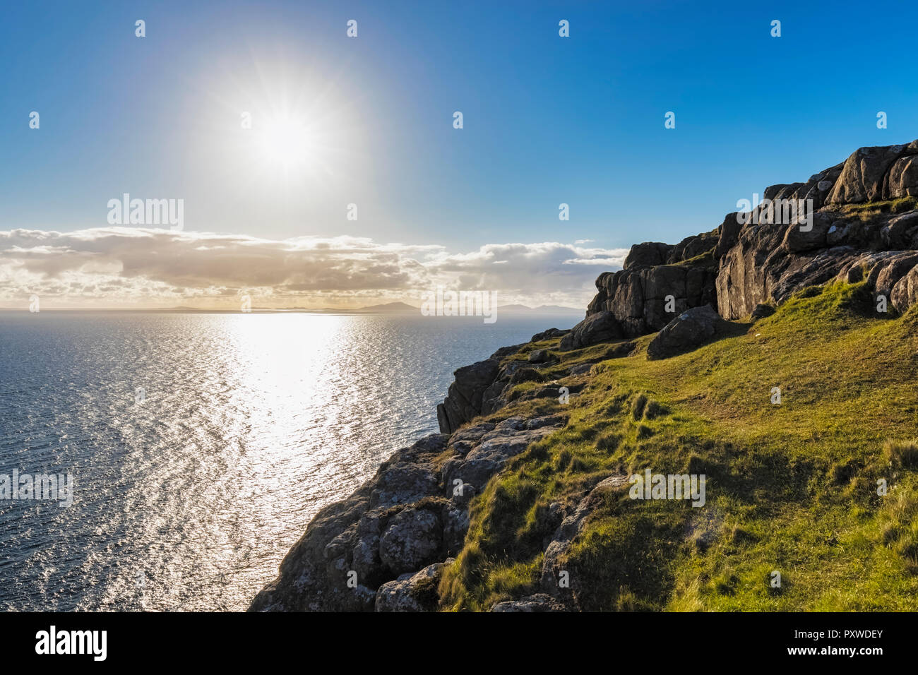 UK, Scotland, Inner Hebrides, Isle of Skye, Neist Point - Stock Image