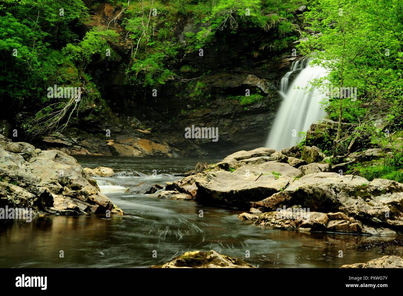 Falls of Falloch, Schottland, Wasserfall - Stock Image