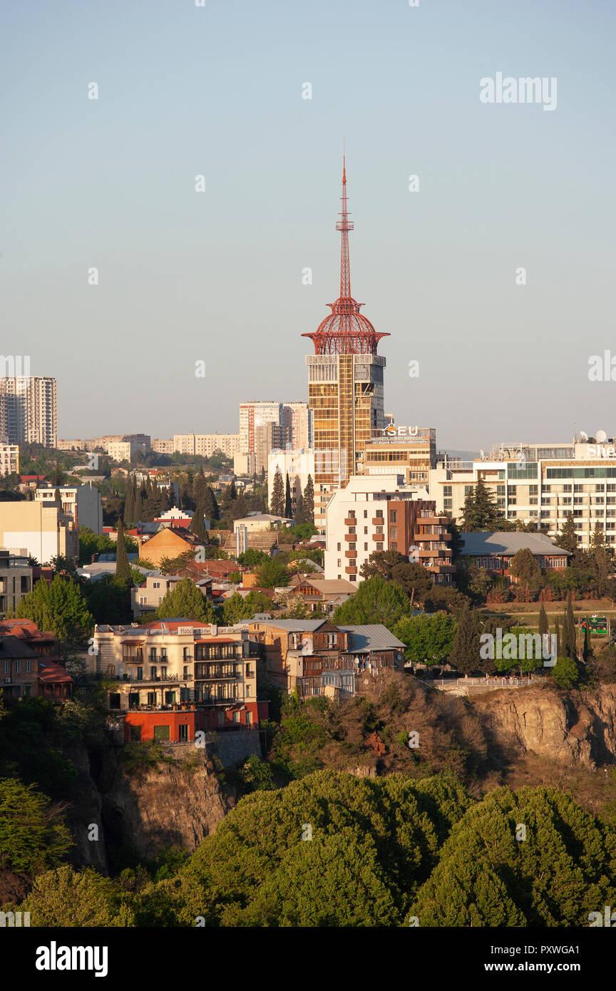 Georgia, Tbilisi, Geogian National Univerity - Stock Image