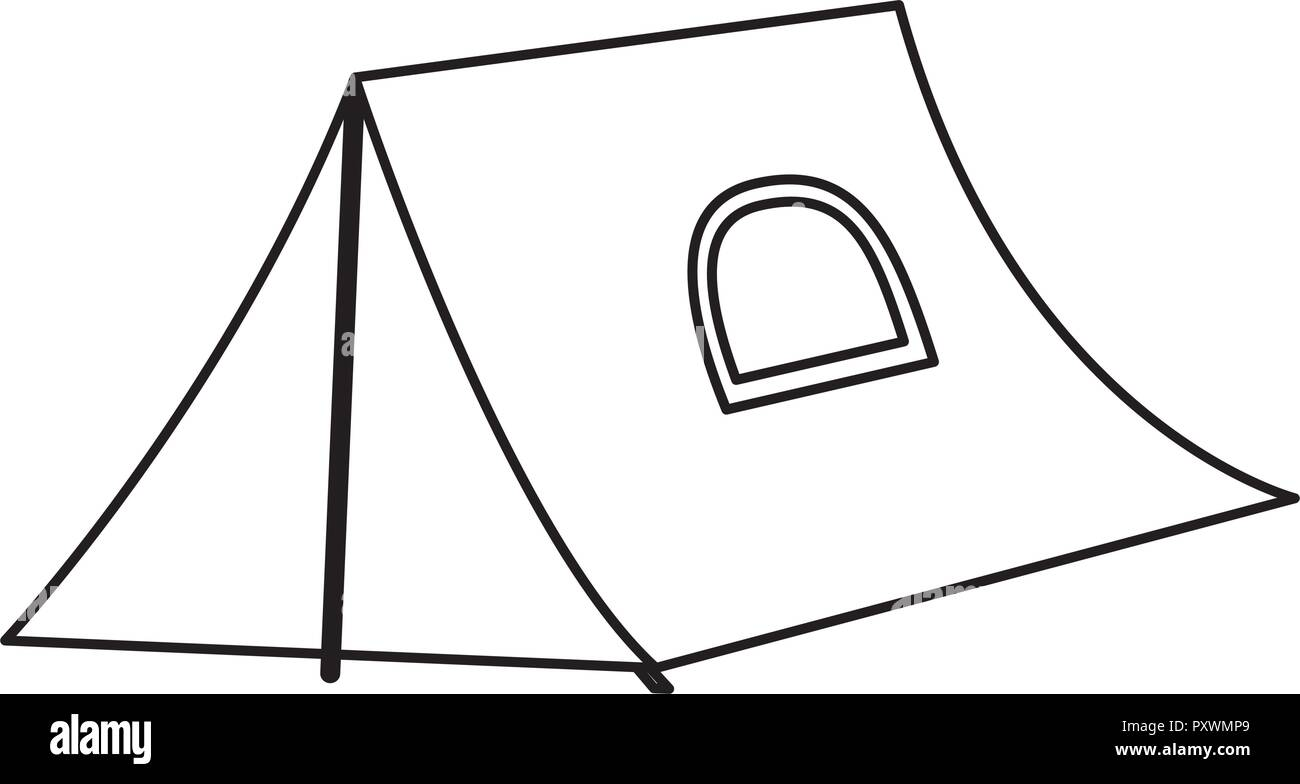 tent c ing black and white stock photos images alamy New Moon Home 1952 c ing tent over background vector illustration stock image