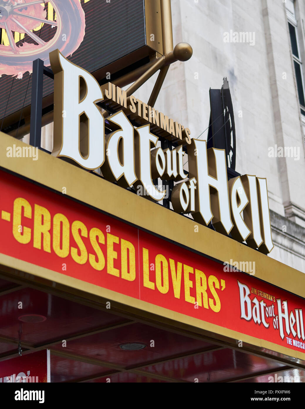 Bat Out Of Hell - Musical.  London - Stock Image