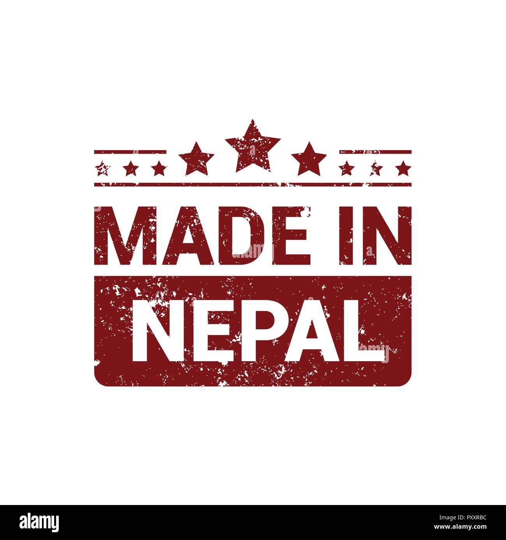 Nepal stamp design vector Stock Vector Image & Art   Alamy