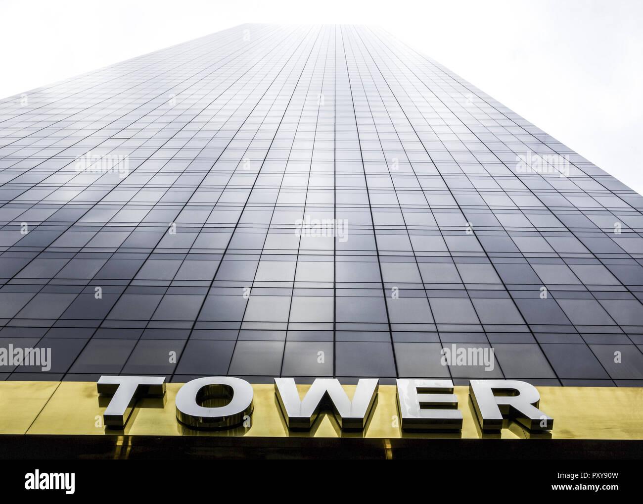 Wolkenkratzer, Trump Tower, New York, USA - Stock Image