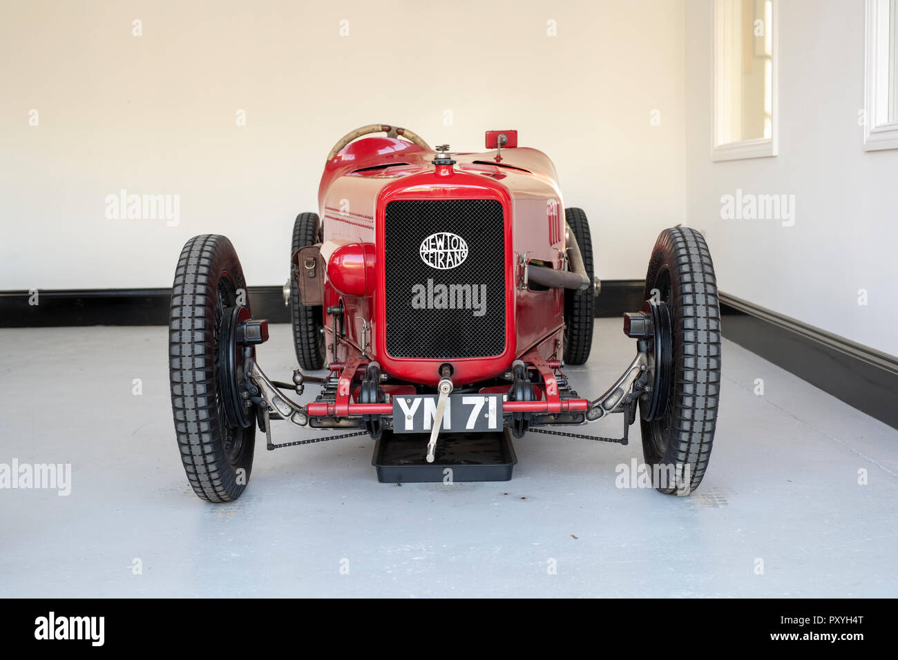 1923 Newton 1,100cc Four Cylinder DOHC Competition Two Seater racing car at Bicester heritage centre autumn sunday scramble event. Oxfordshire. UK - Stock Image