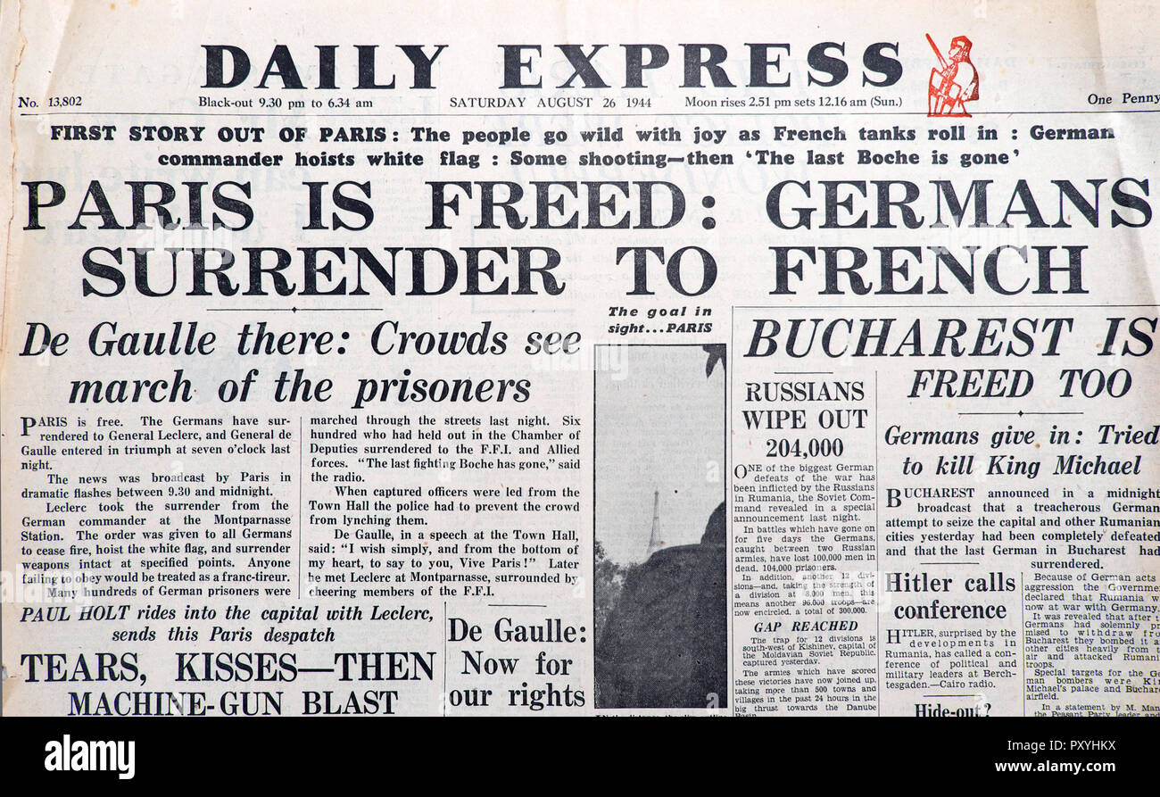 Surrender Of Germany Stock Photos & Surrender Of Germany Stock ...
