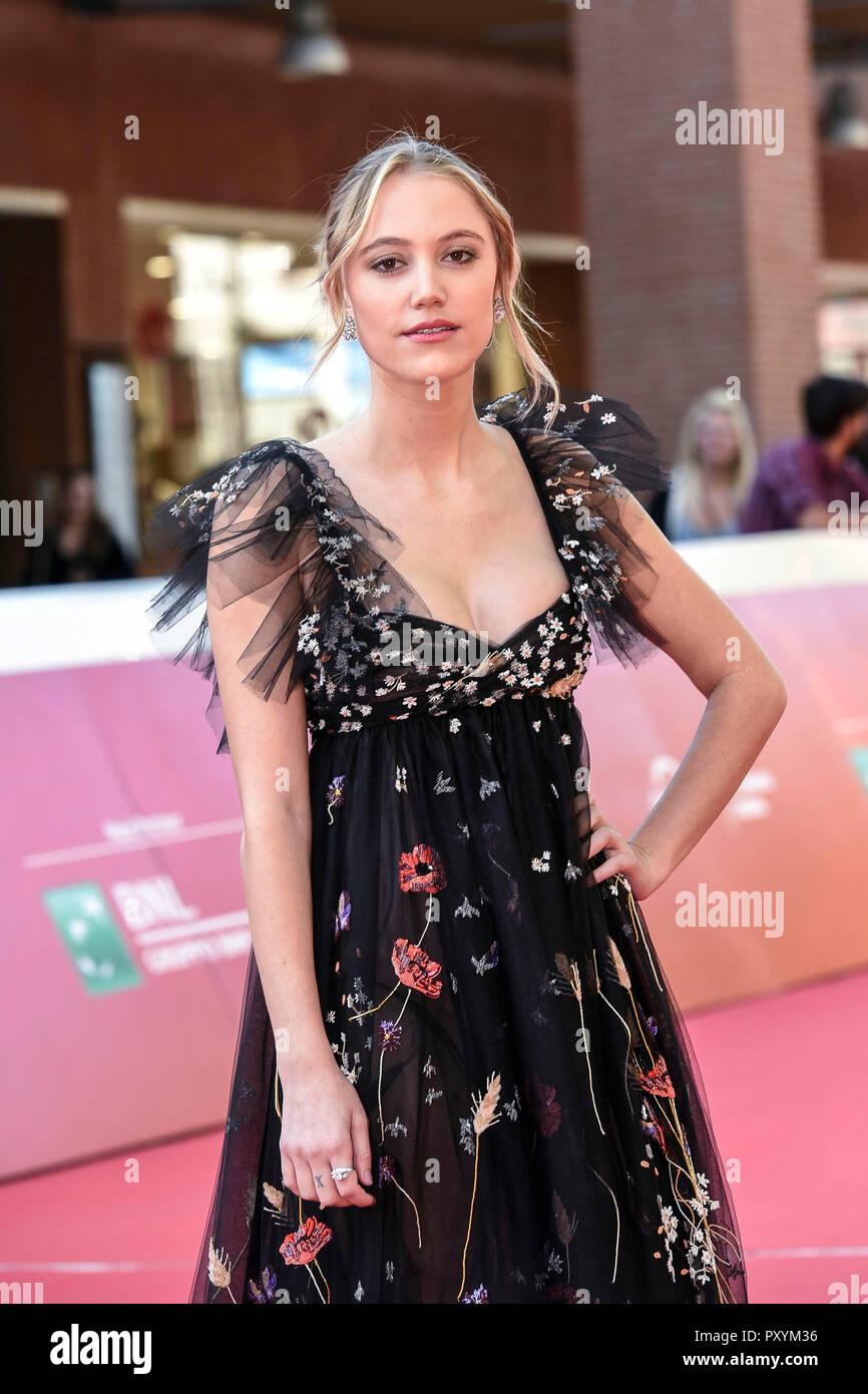 Italy Rome 24 October 2018 Rome Film Festival 2018 Maika Monroe