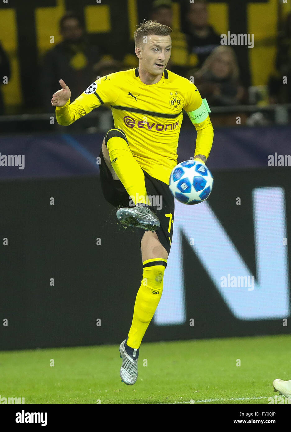 Dortmund, Germany. 24th October, 2018. Marco Reus (Borussia Dortmund) during the UEFA Champions League, Group A football match between Borussia Dortmund and Atletico de Madrid on October 24, 2018 at Signal Iduna Park in Dortmund, Germany - Photo Laurent Lairys / DPPI Credit: Laurent Lairys/Agence Locevaphotos/Alamy Live News Stock Photo