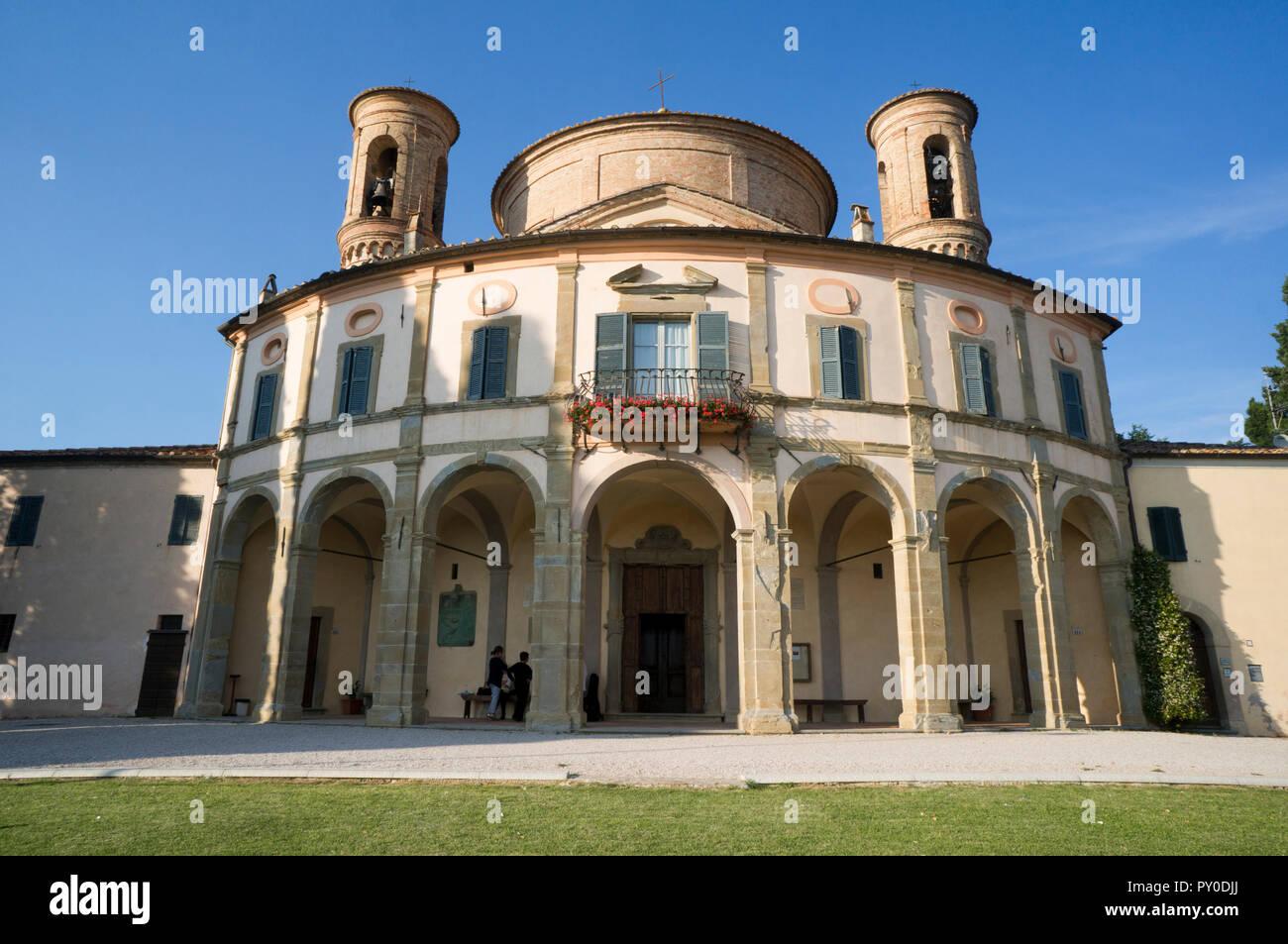 Sanctuary of Madonna di Belvedere, near Città di Castello, Umbria, Italy - Stock Image