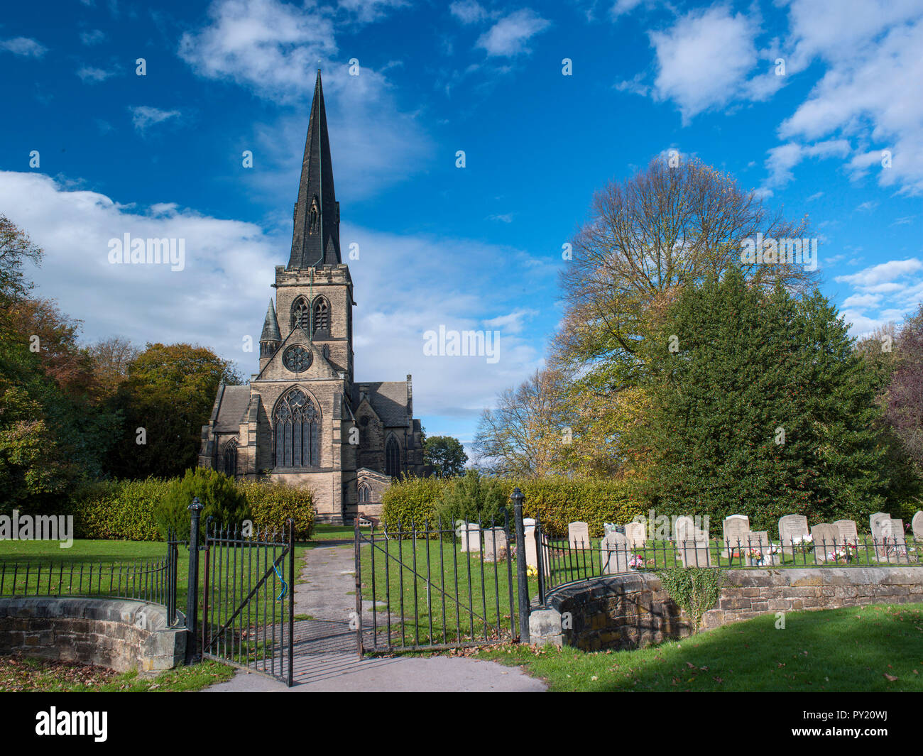 Holy Trinity Parish Church, Wentworth, South Yorkshire, England, United Kingdom, Europe - Stock Image