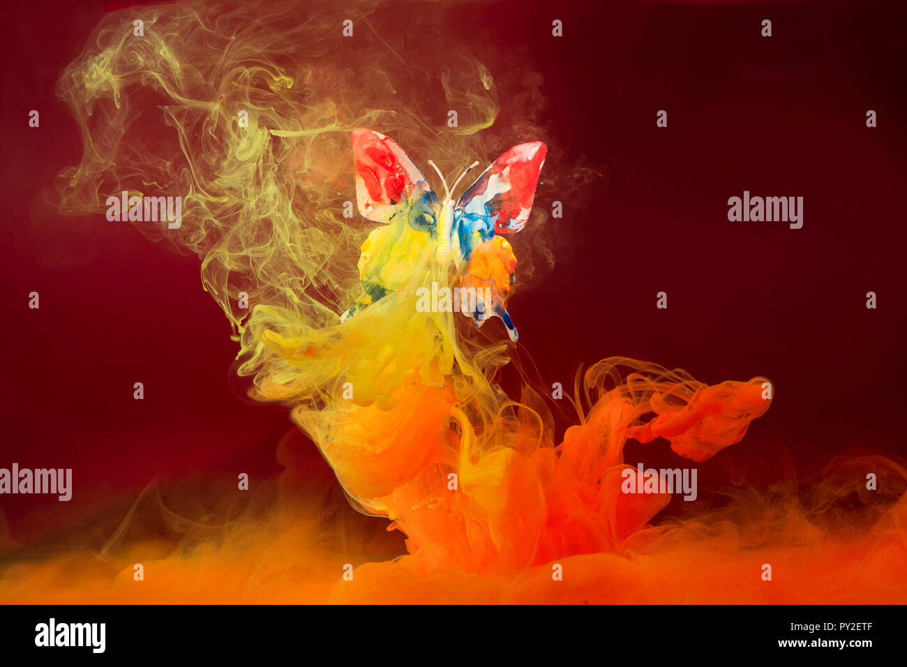 Conceptual Butterfly Stock Photos & Conceptual Butterfly