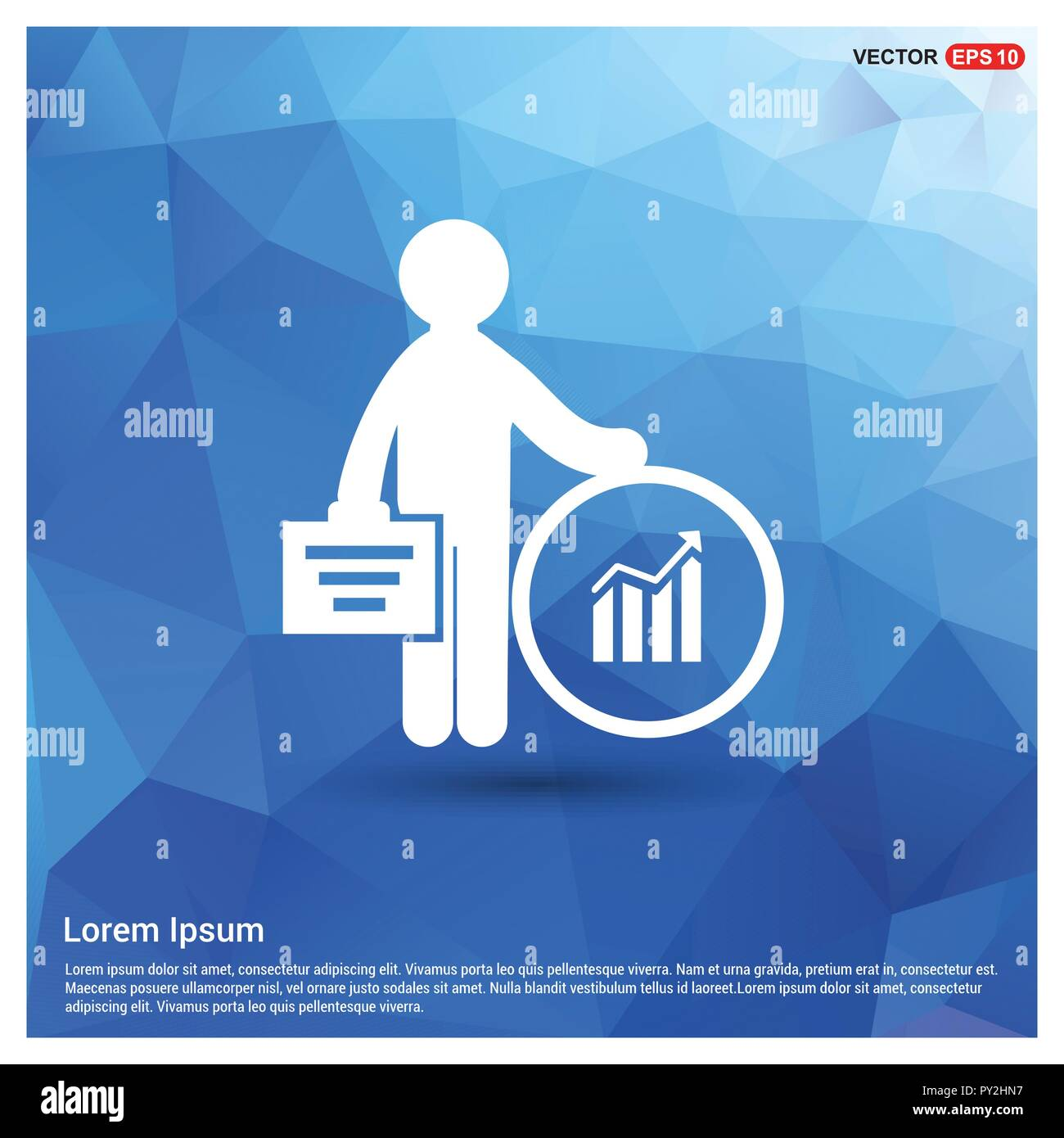 Business Finance Icon - Stock Vector