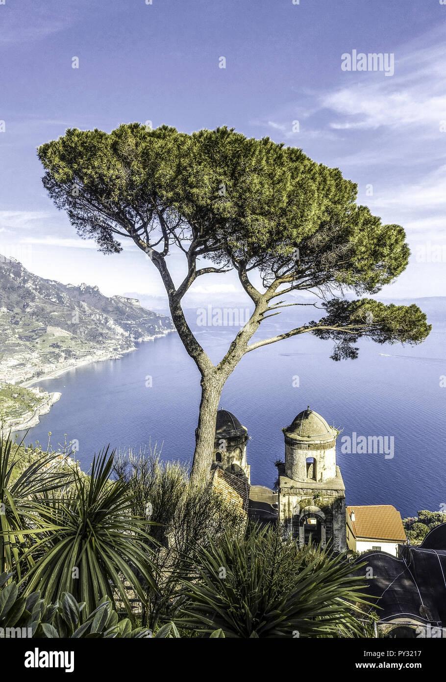 Amalfikueste, Kampanien, Italien - Stock Image