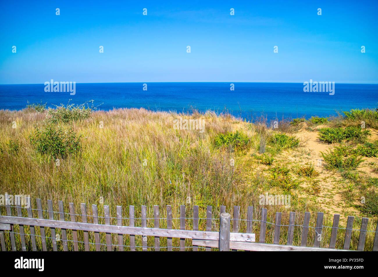 The Marconi Beach in Cape Cod National Seashore, Massachusetts - Stock Image