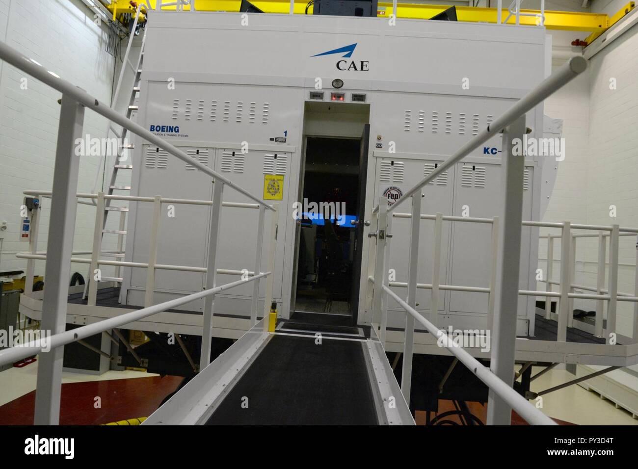 CAE Inc  KC-135 Stratotanker full flight simulator at RAF