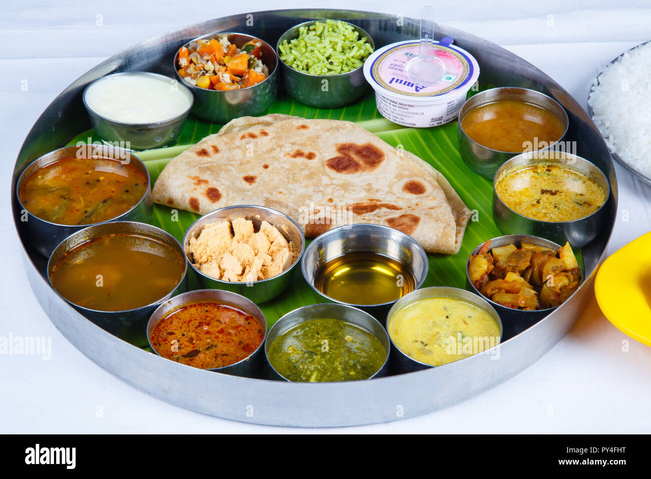 Food Meal Recipe In Asian And South Indian Delicious And
