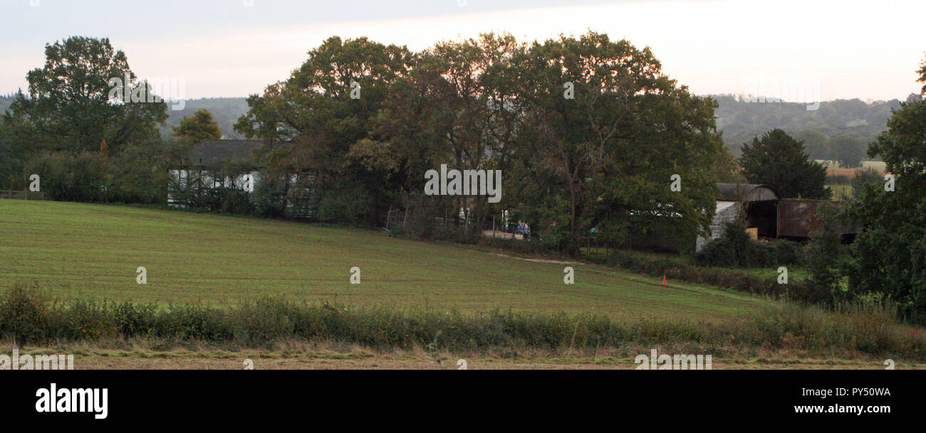 Along the Ouse Valley Way - Stock Image