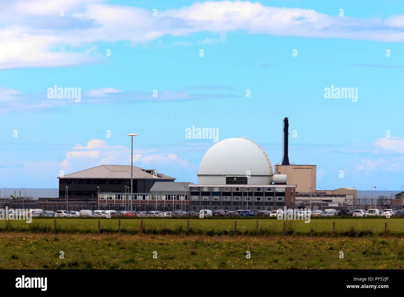 Dounreay, decommissioned nuclear power station, Scottish Highlands, Scotland, UK Stock Photo