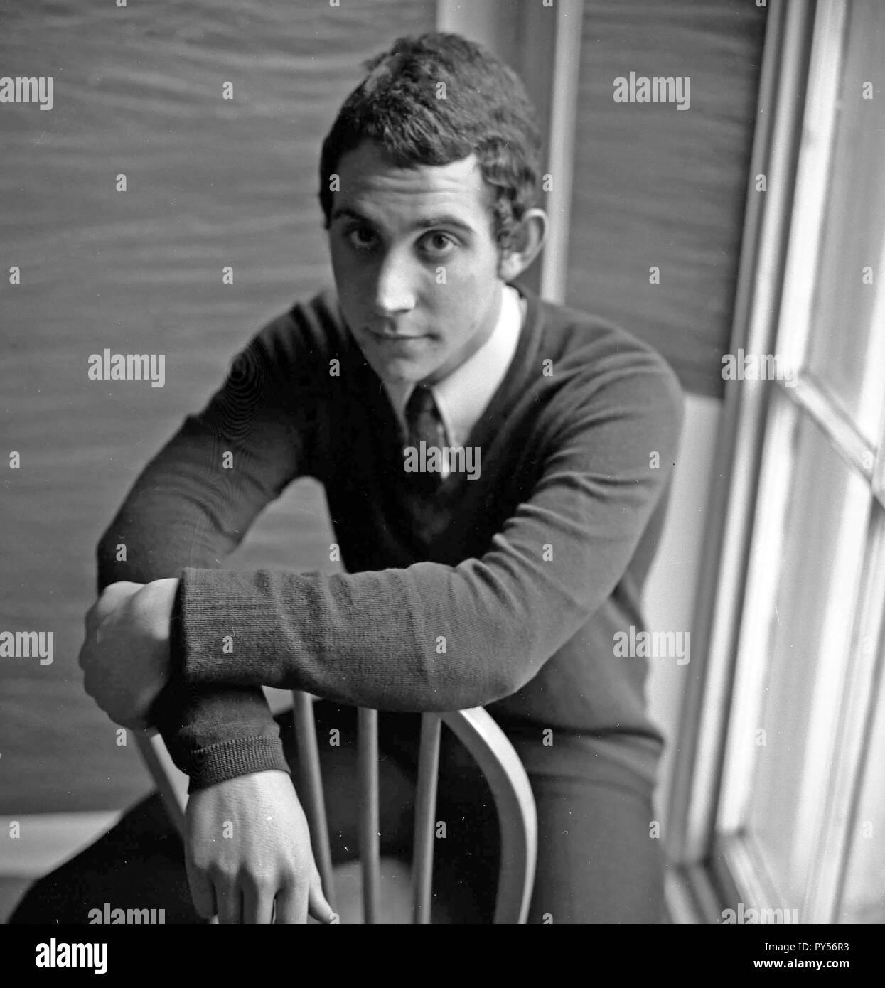 THE ATTACK UK pop group member Barney Barnfield in 1967 - Stock Image