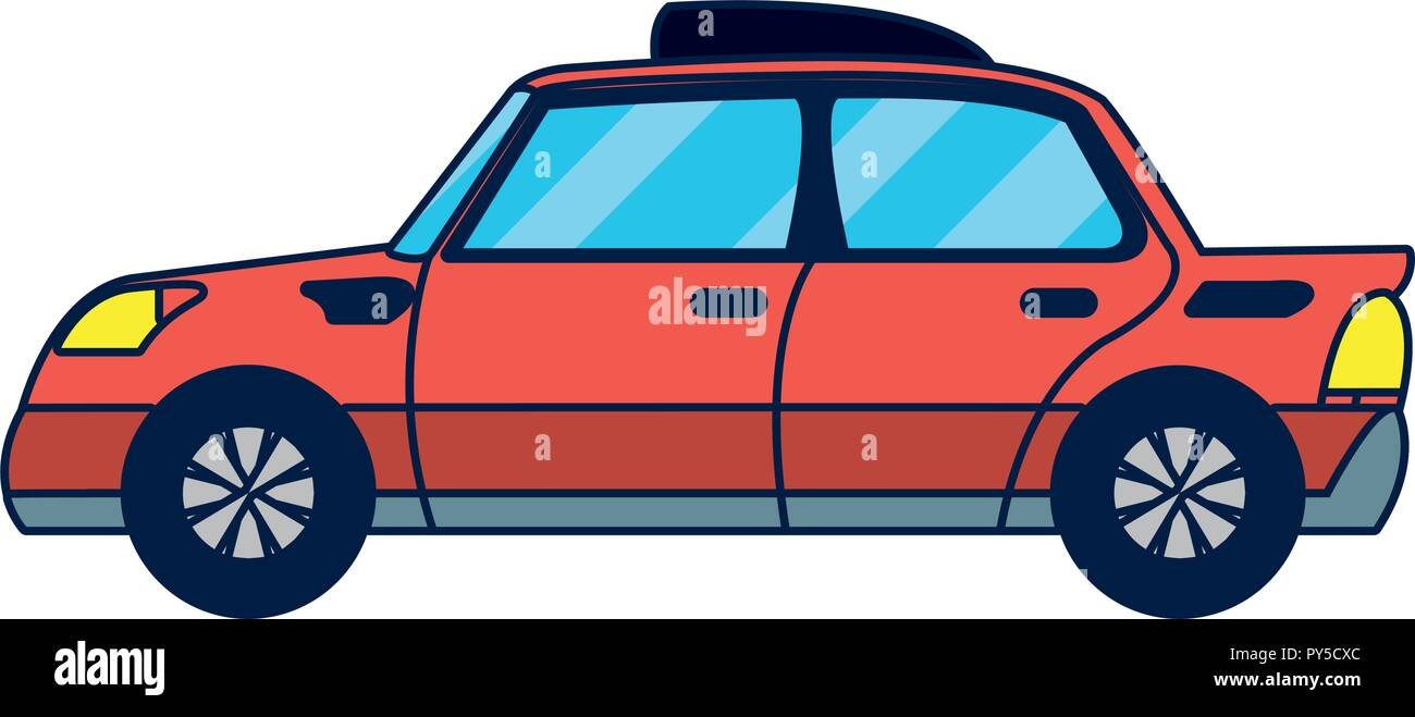 Autonomous car technology Stock Vector Art & Illustration