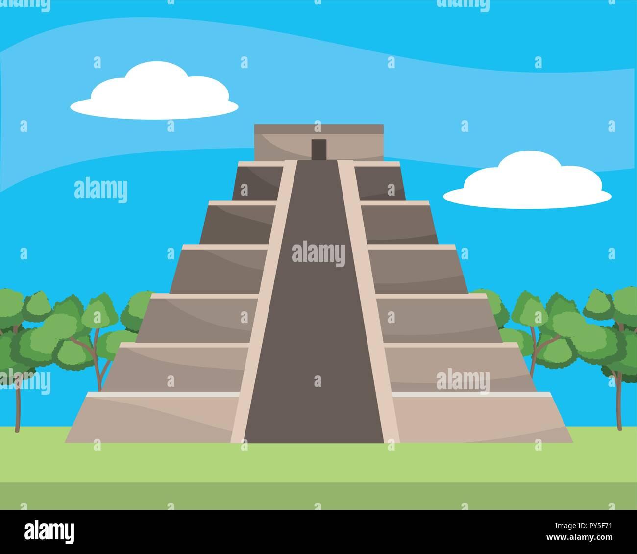 Concept Art Mesoamerican Pyramids