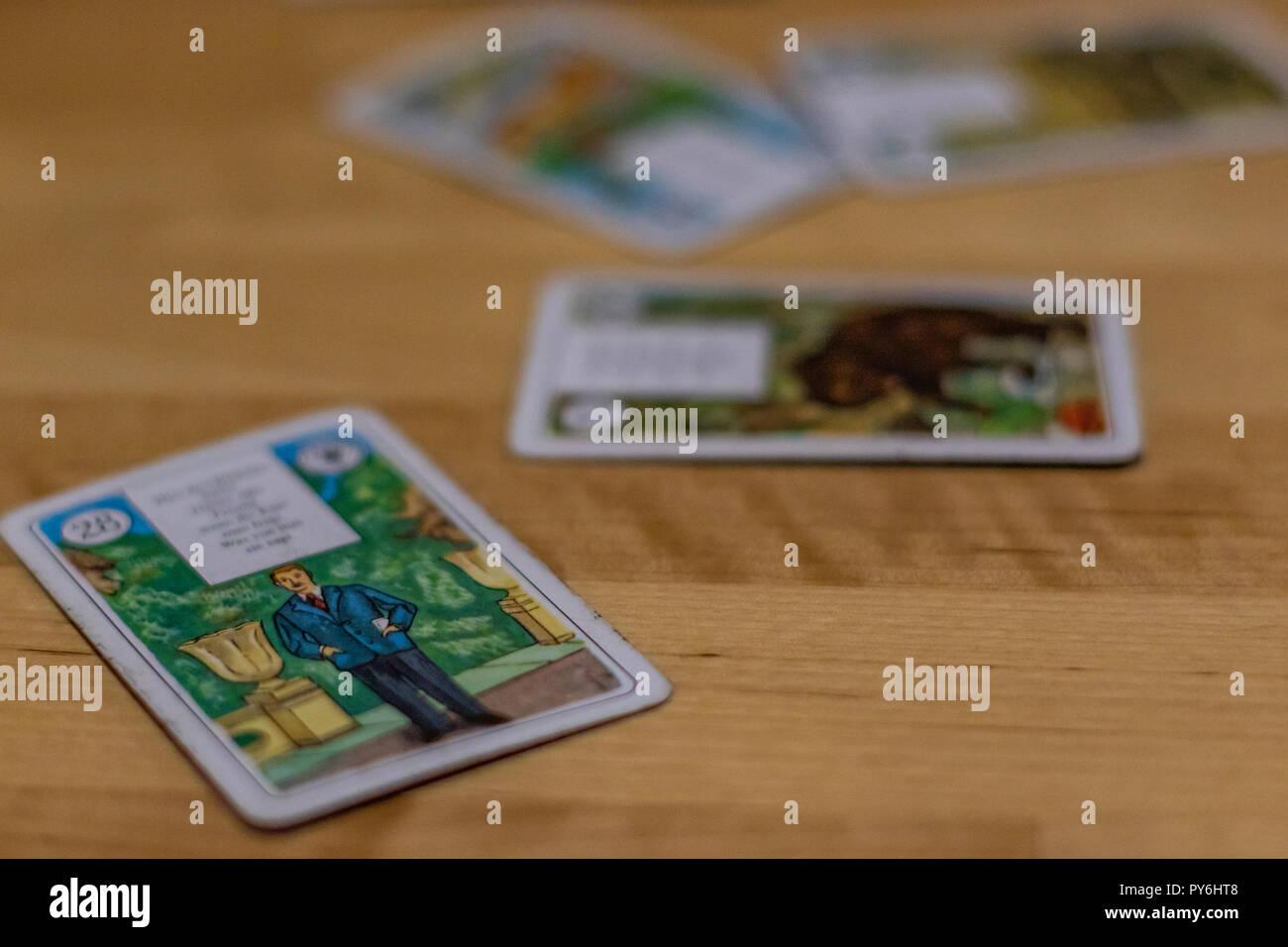 Tarot Karten - Stock Image