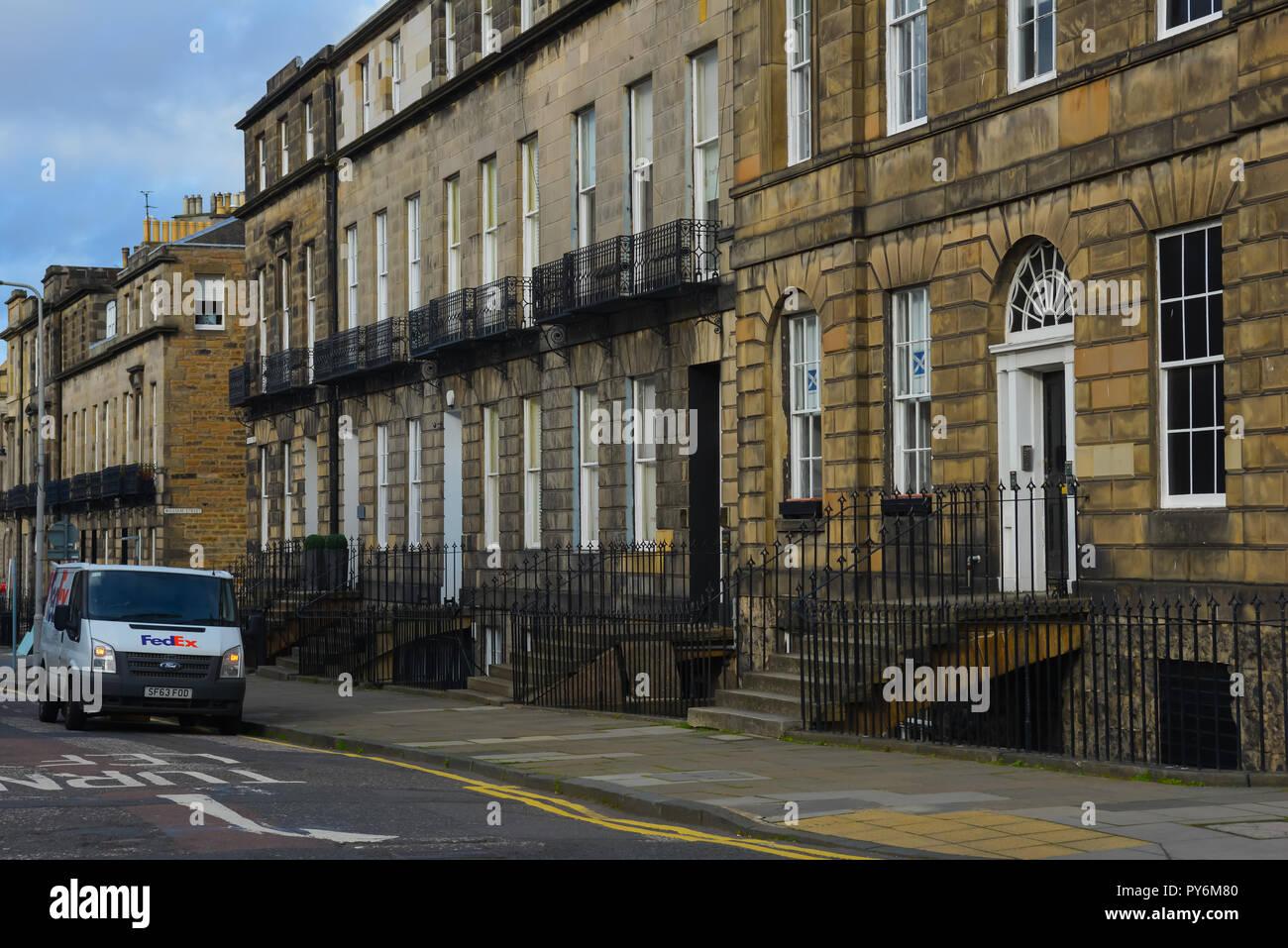 The city of Edinburgh - Stock Image