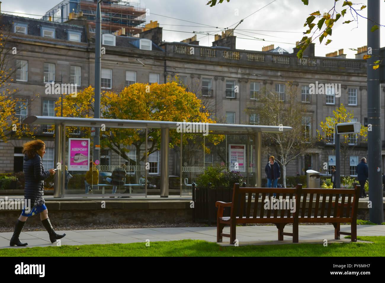 The city of Edinburgh Stock Photo