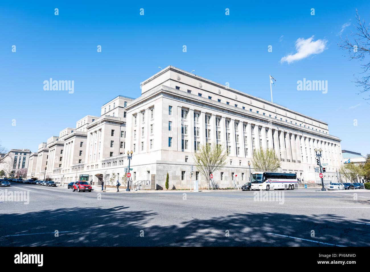 Washington Dc Usa April 5 2018 United States Department Of