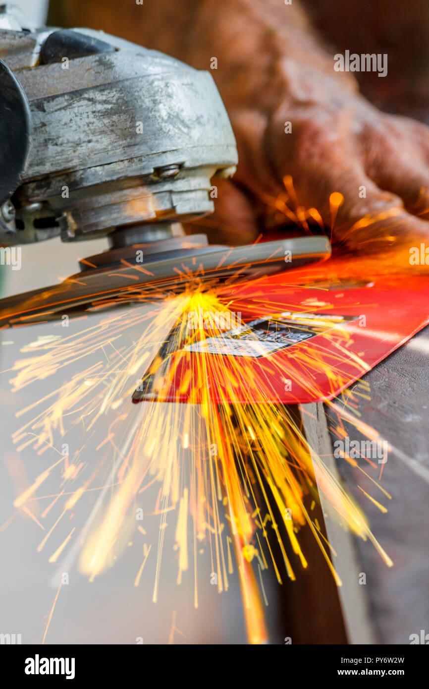 Sharpening Tool - Stock Image