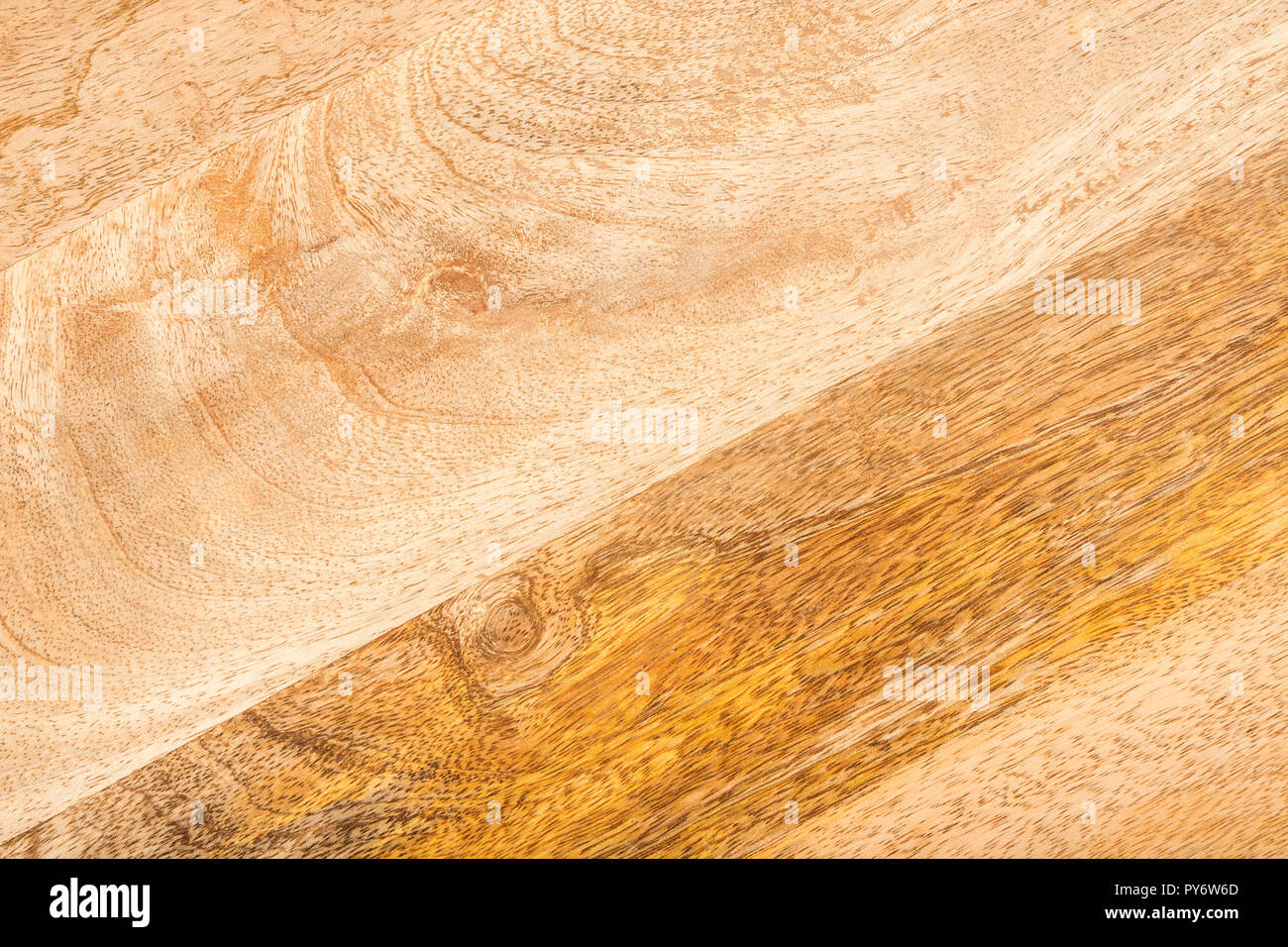 Beautiful natural warm wooden surface. Polished wood texture. - Stock Image