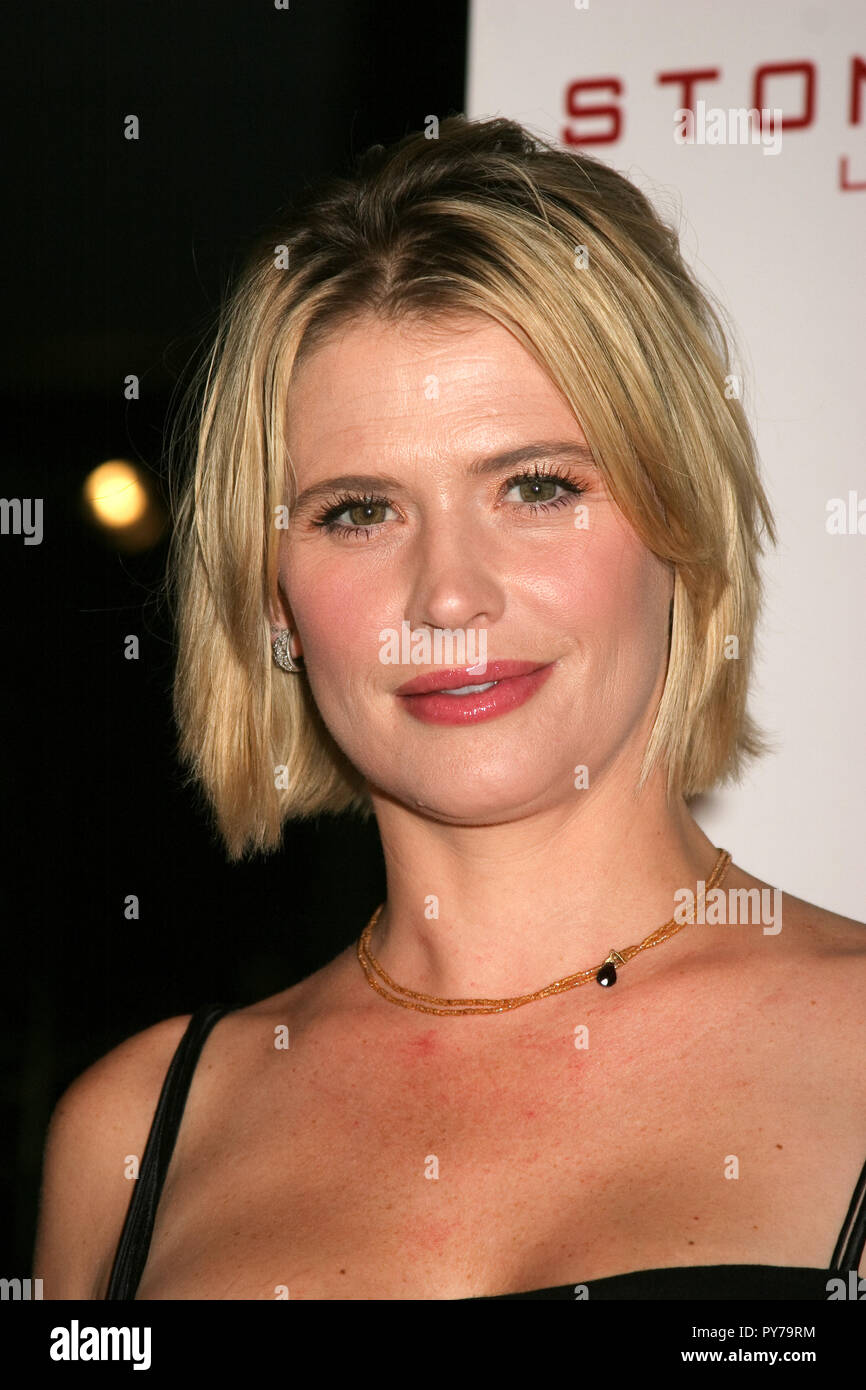 Kristy Swanson  09/27/07 'The 20th Year Anniversary of Movie Time/E! Entertainment Television'  @ Stone Rose Lounge at The Sofitel Hotel, West Hollywood Photo by Ima Kuroda/HNW / PictureLux  (September 28, 2007) - Stock Image