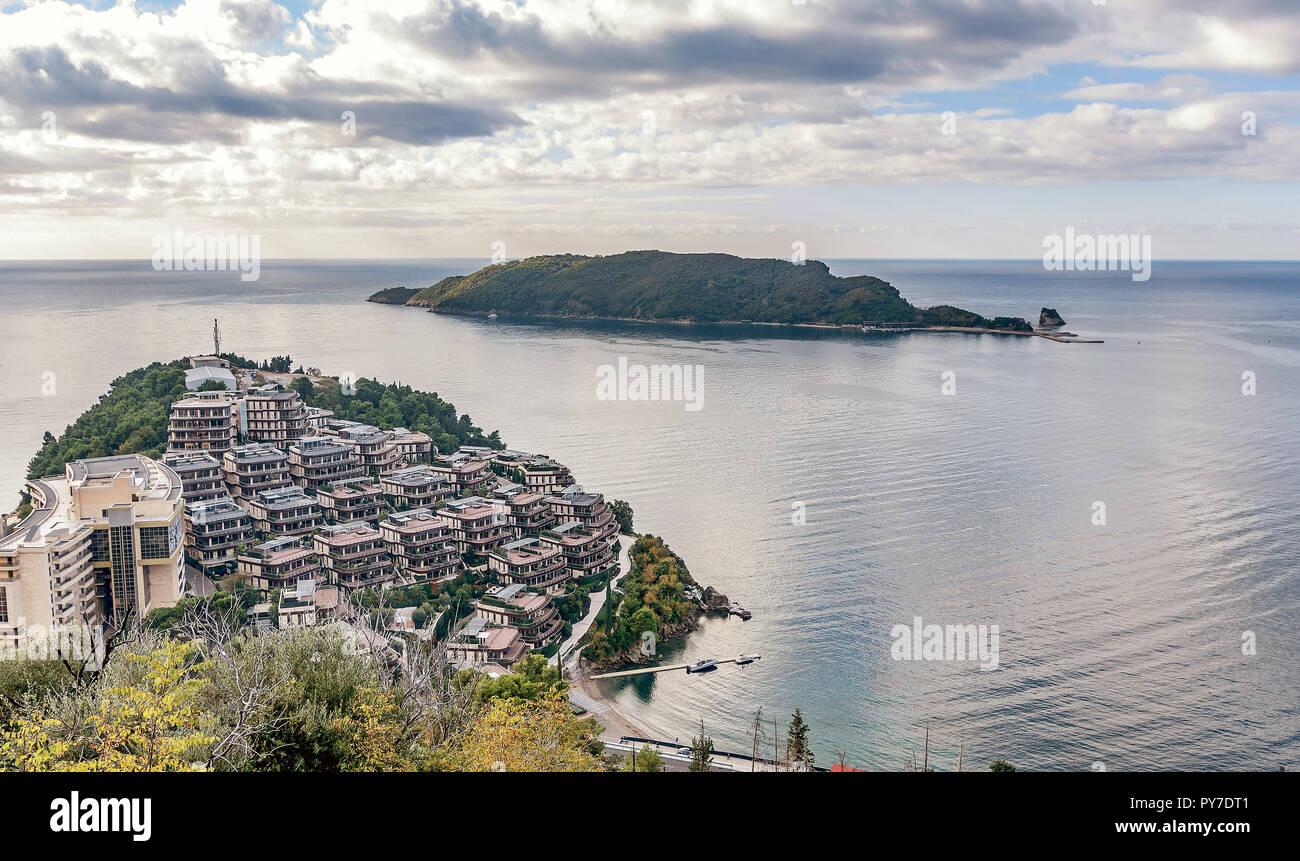 Остров завала монтенегро черногория