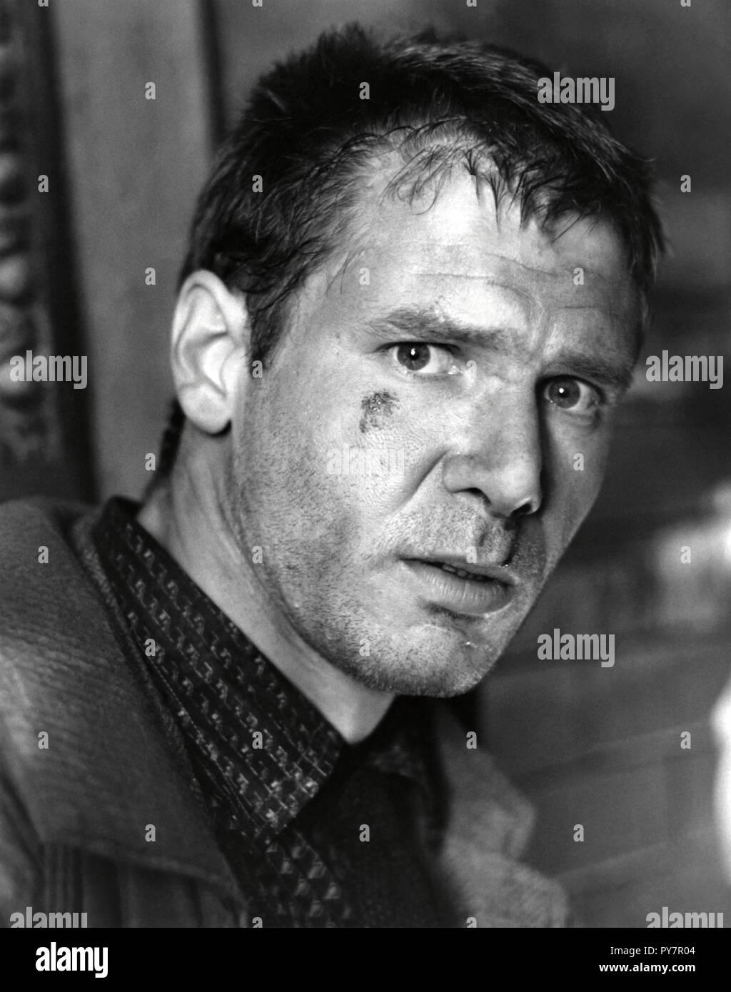 Original film title: BLADE RUNNER. English title: BLADE RUNNER. Year: 1982. Director: RIDLEY SCOTT. Stars: HARRISON FORD. Credit: LADD COMPANY/WARNER BROS / Album - Stock Image