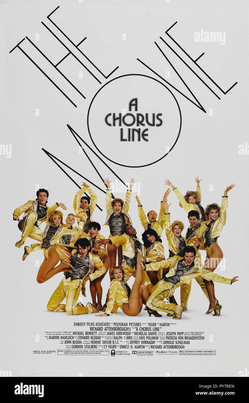 Chorus Line Chorus Line Usa Stock Photos & Chorus Line