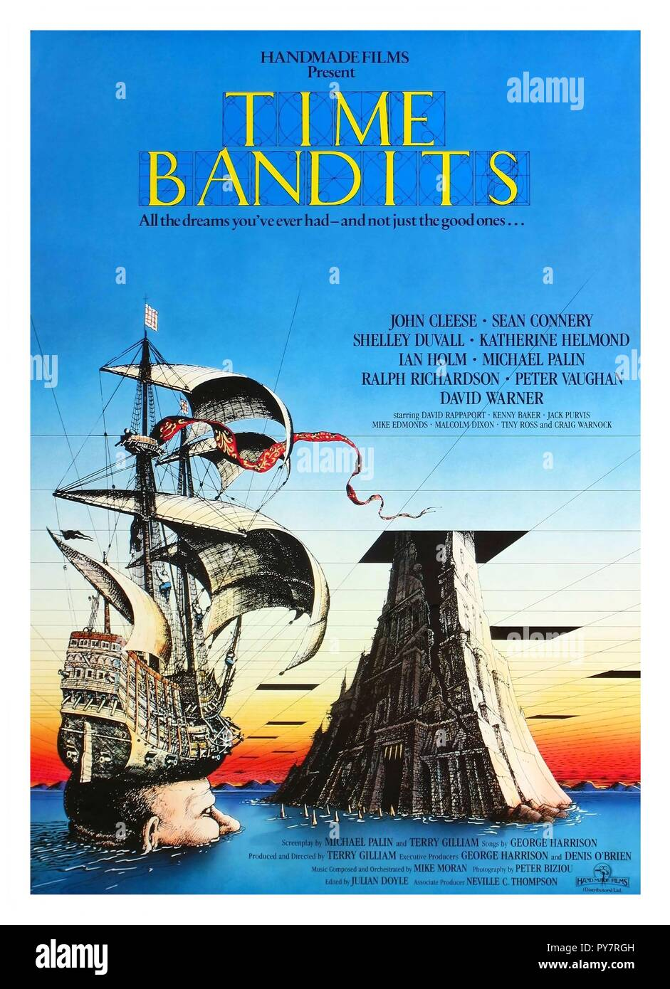 Original film title: TIME BANDITS. English title: TIME BANDITS. Year: 1981. Director: TERRY GILLIAM. Credit: HANDMADE FILMS / Album - Stock Image