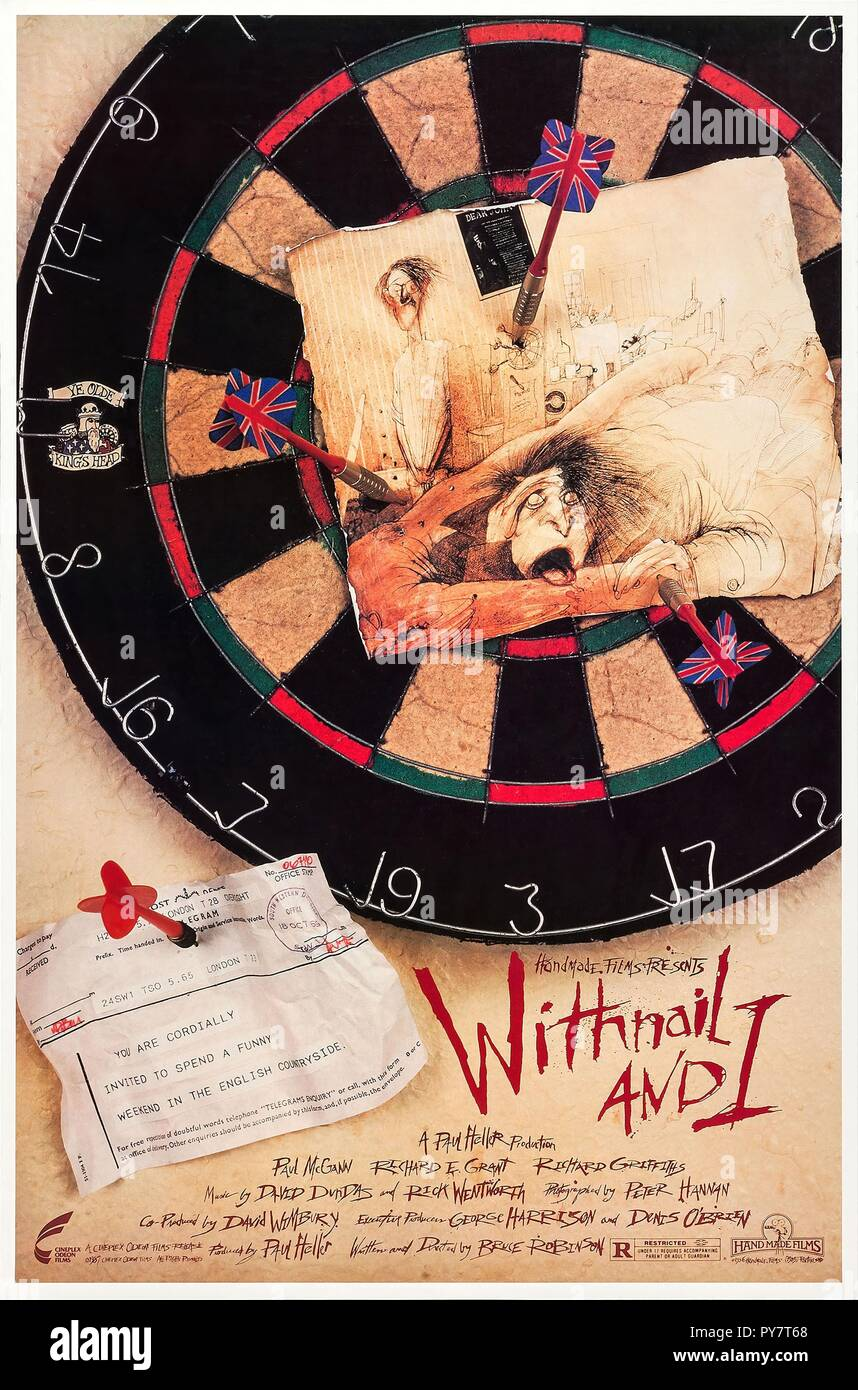 Original film title: WITHNAIL AND I. English title: WITHNAIL AND I. Year: 1987. Director: BRUCE ROBINSON. Credit: HANDMADE FILMS / Album - Stock Image