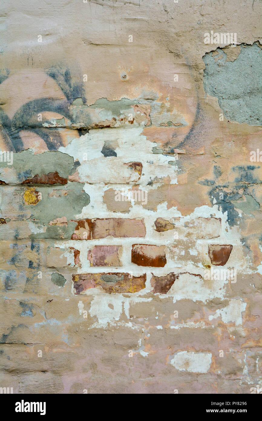 Distressed Stucco Walls Exterior: Brick And Stucco Stock Photos & Brick And Stucco Stock