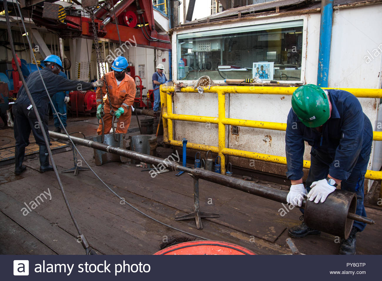 Offshore Oil Worker Stock Photos & Offshore Oil Worker Stock