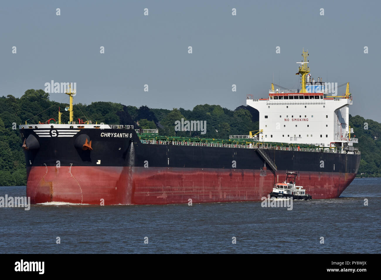 Bulkcarrier Chrysanthi S Stock Photo