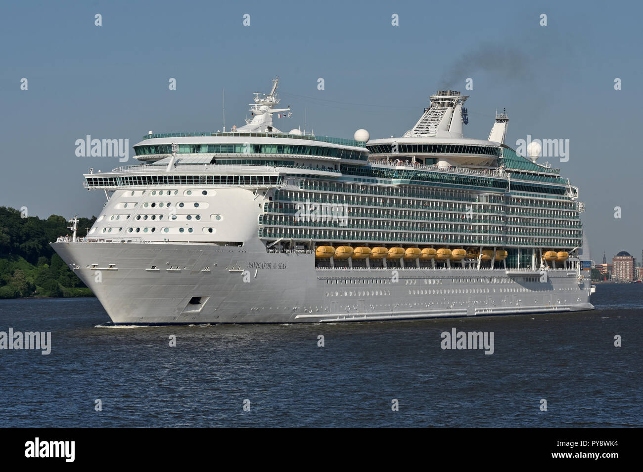 Navigator of the Seas - Stock Image