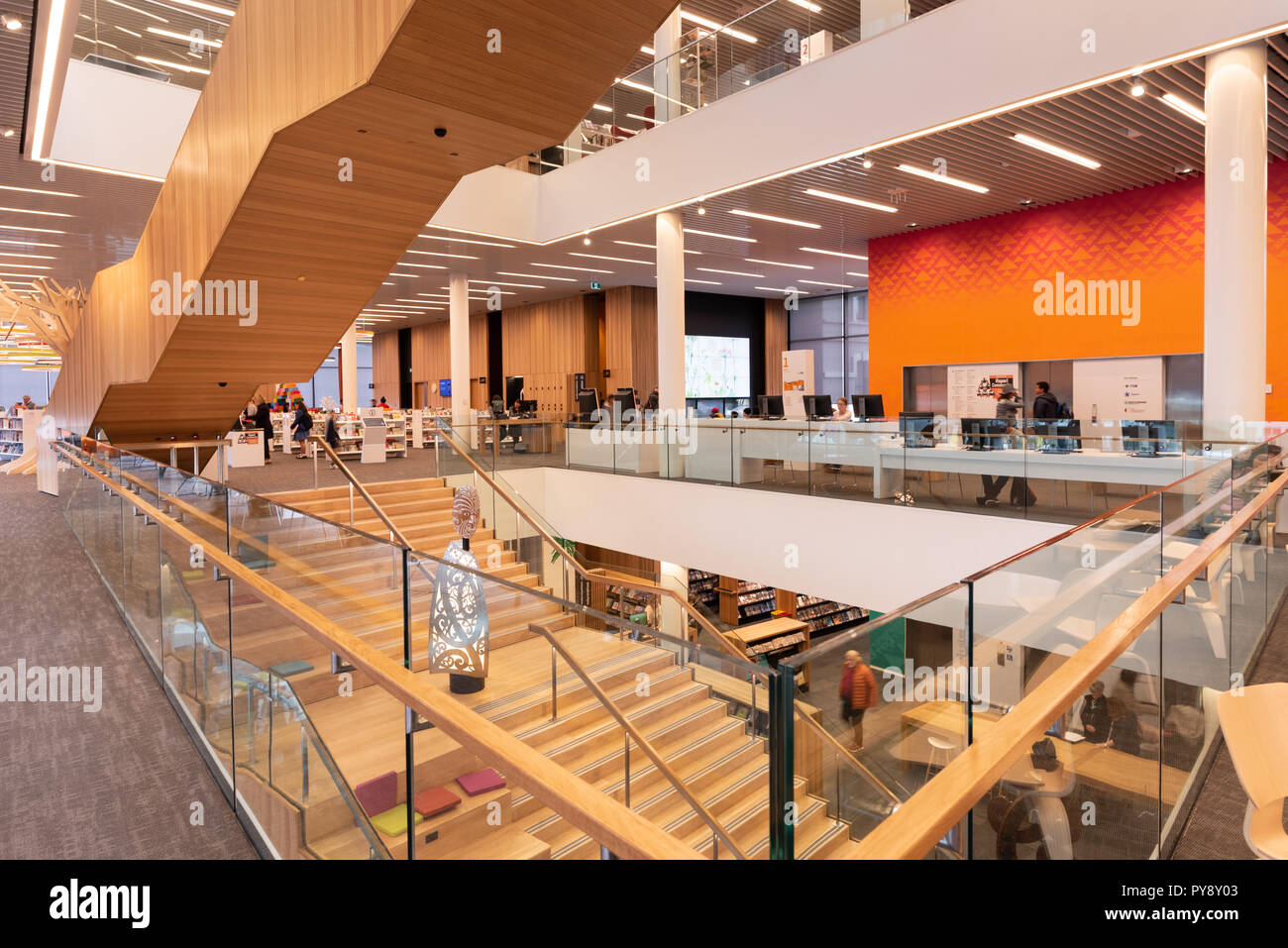 Christchurch Central News: Turanga, The Christchurch Central Library, New Zealand