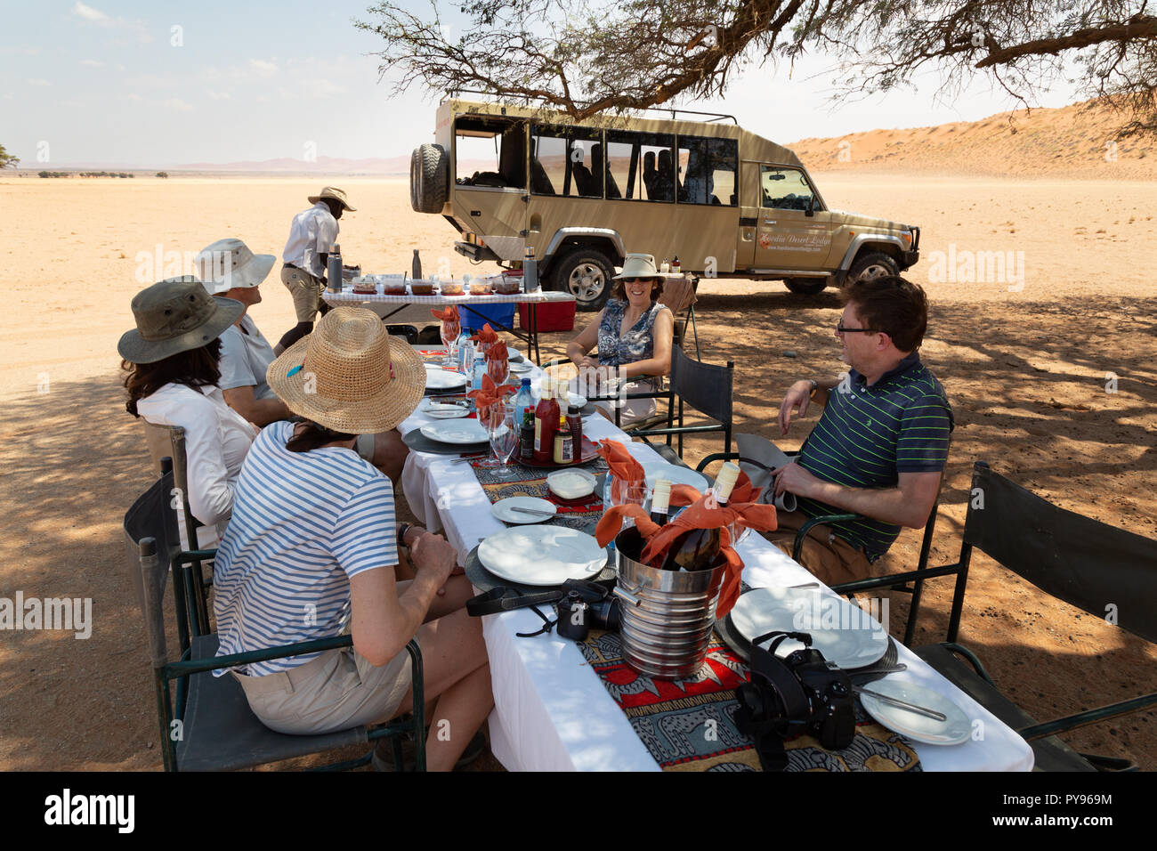 Guide safari i namibia