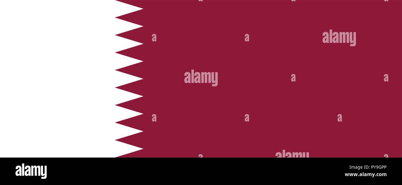 Qatari Flag Stock Photos & Qatari Flag Stock Images - Alamy