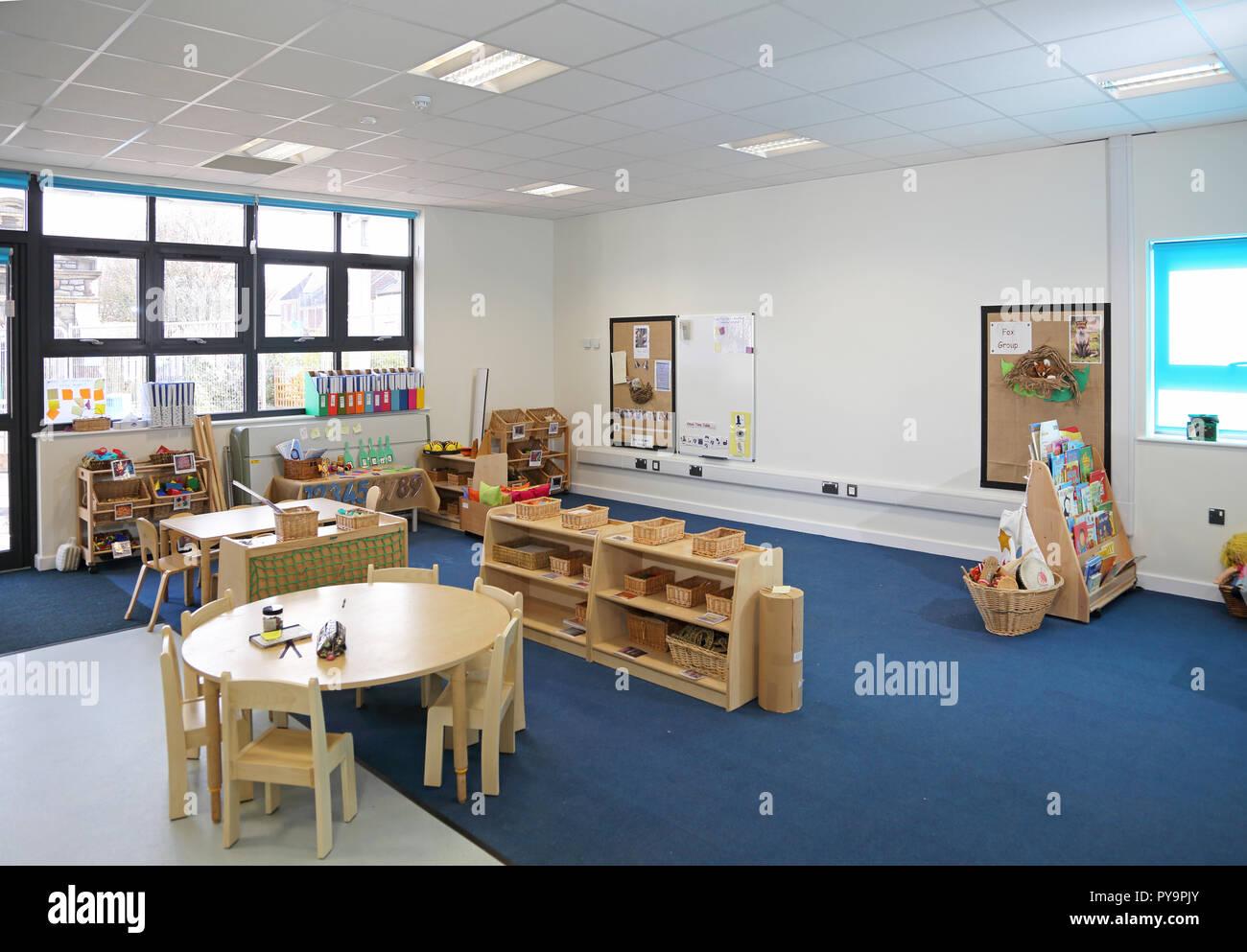 Interior Of A Nursery Classroom In A New London Primary School Shows Natural Timber Furniture Stock Photo Alamy,Scandinavian Design Desktop Wallpaper