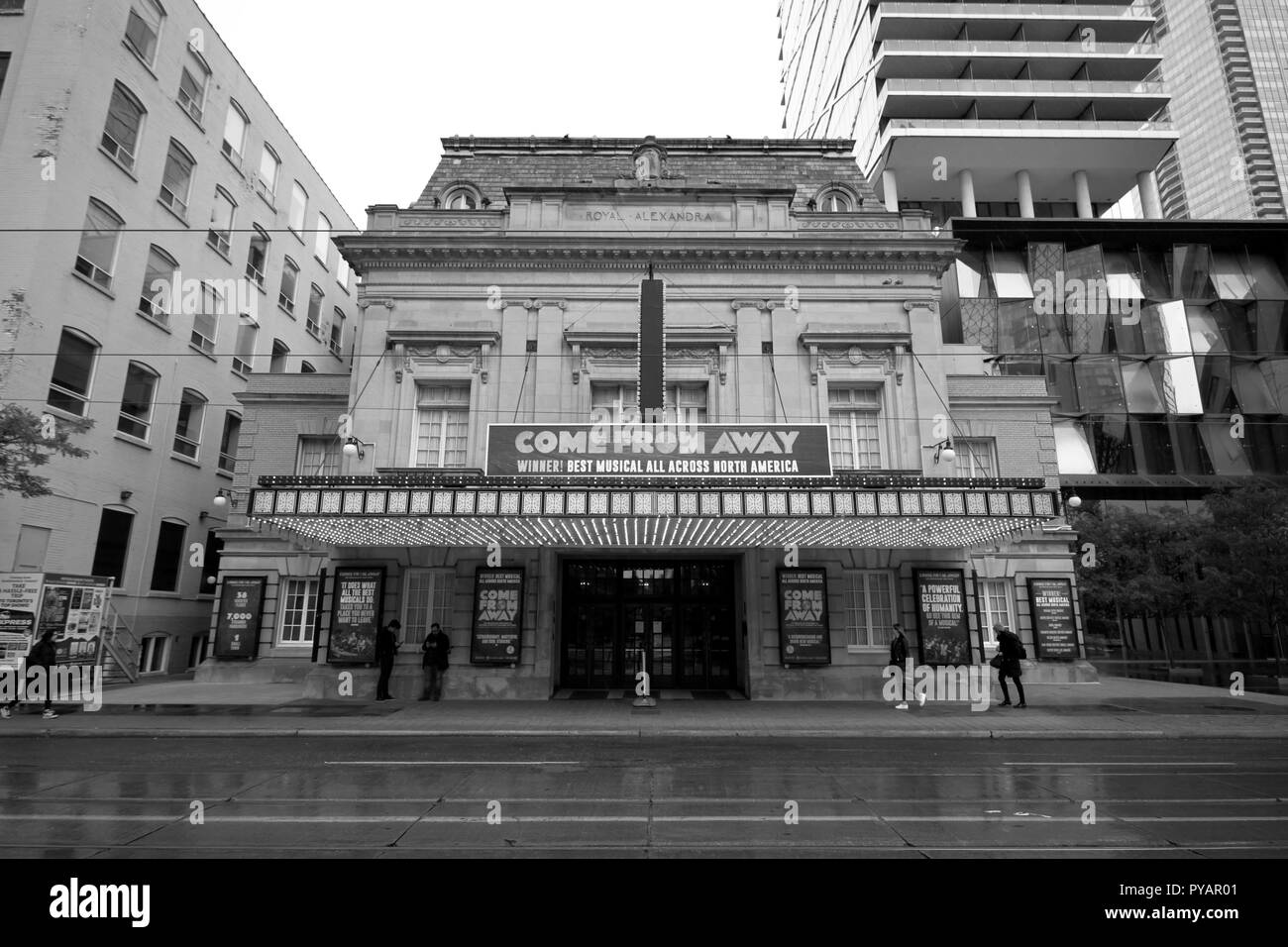 The Royal Alexandra Theater in Toronto Stock Photo