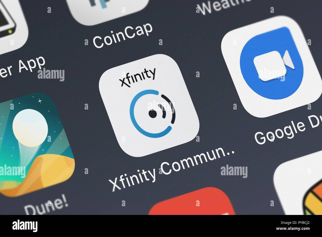 Xfinity App Stock Photos & Xfinity App Stock Images - Alamy