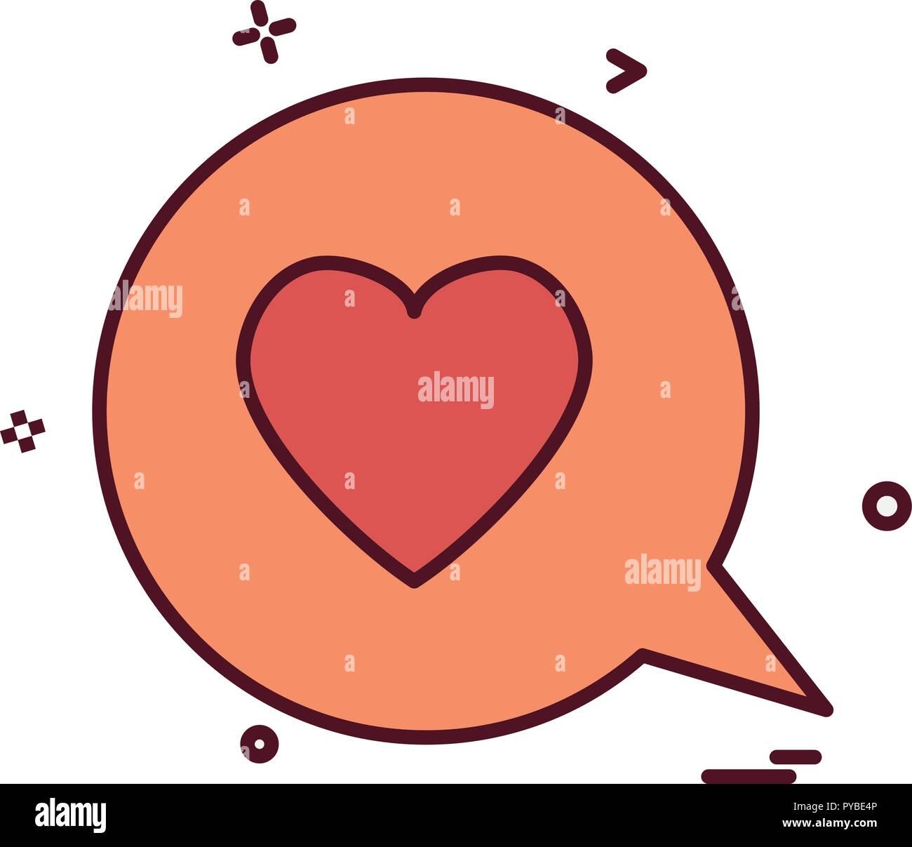 Valentine S Day Icon Design Vector Stock Vector Art Illustration