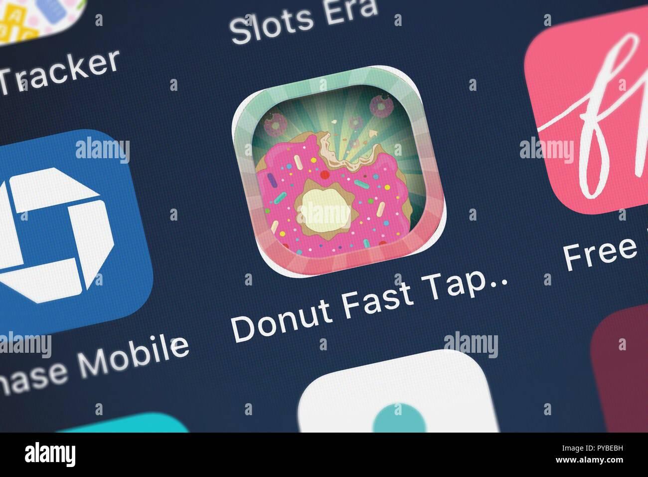 Donut Fast Tap Clicker Stock Photos & Donut Fast Tap Clicker