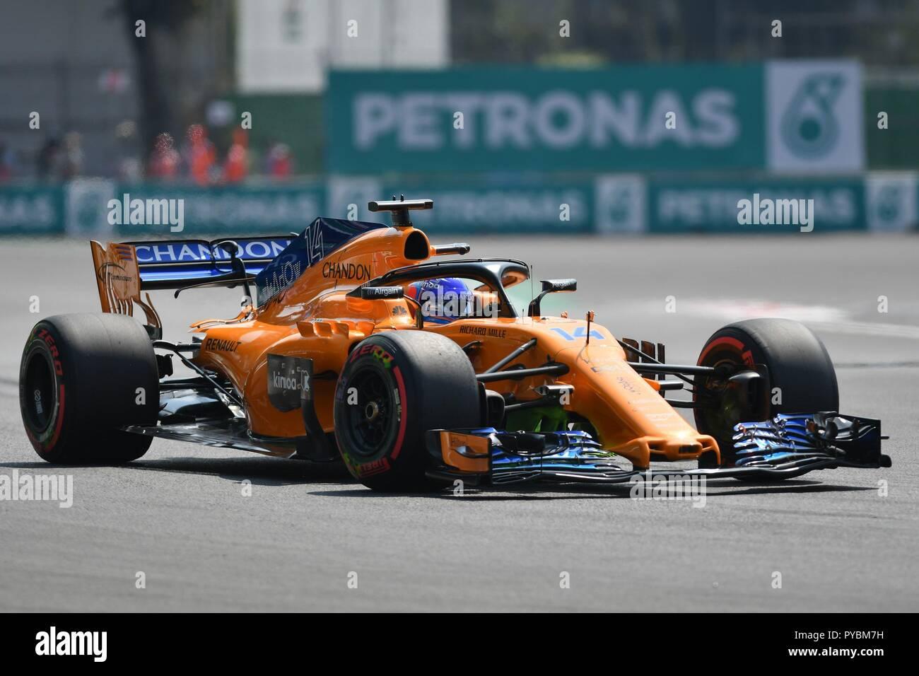 Fernando Alonso Mclaren F1 Team Stock Photos & Fernando