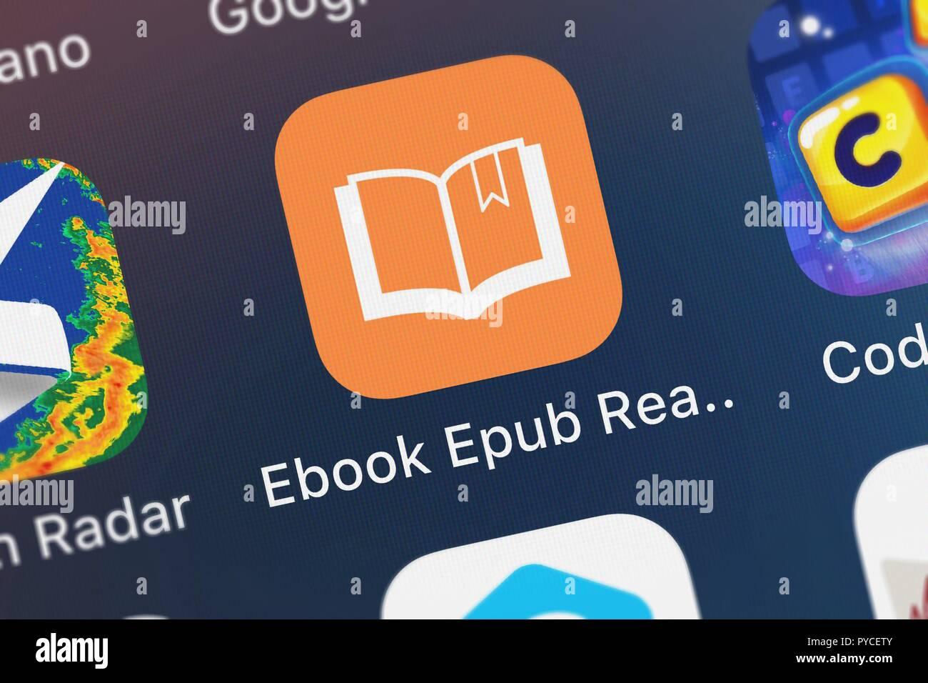 London United Kingdom October 26 2018 The Ebook Epub